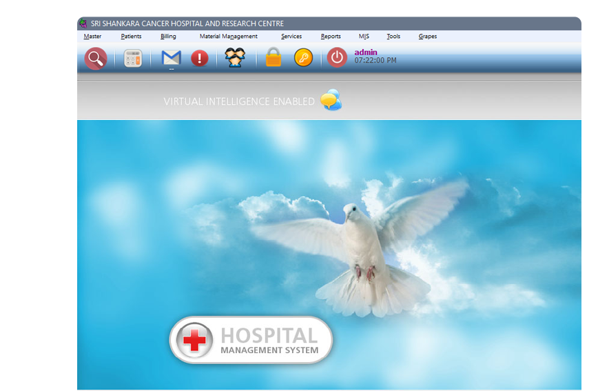 Grapes Hospital Management System with EMR - NABH & ready